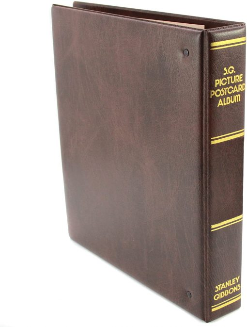 Stanley Gibbons Stamp Storage Systems SG Picture Postcard Album – Brown