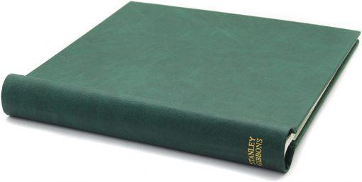 Stanley Gibbons loose leaf albums Simplex Medium Album – Green