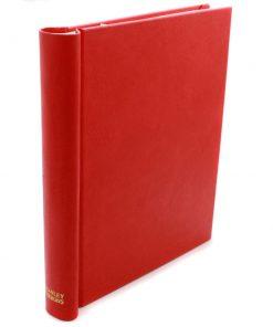 Stanley Gibbons loose leaf albums Simplex Medium Album – Red