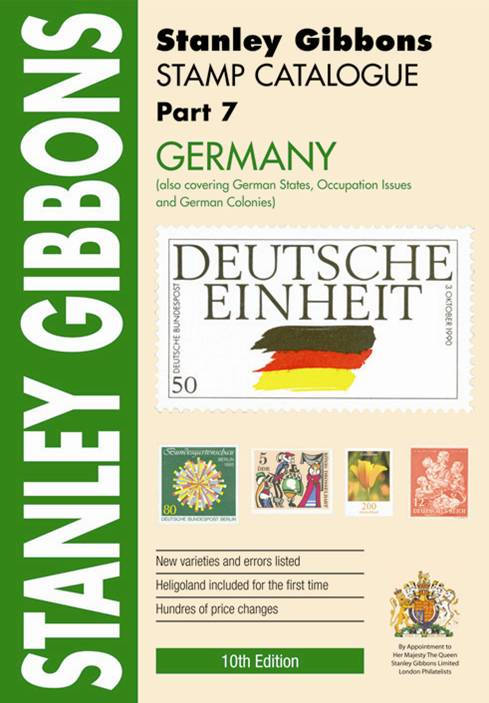 Stanley Gibbons Catalogues SG Catalogue: Germany Pt 7 [10Th Ed.