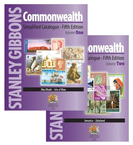 Stanley Gibbons Catalogues SimplifiEd.  Stamp Catalogue Commonwealth 5th Ed.