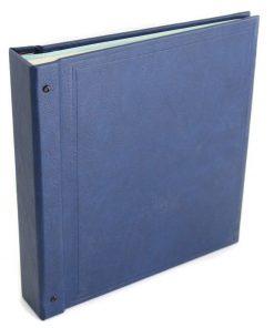 Stanley Gibbons loose leaf albums Devon Stamp Album – Blue
