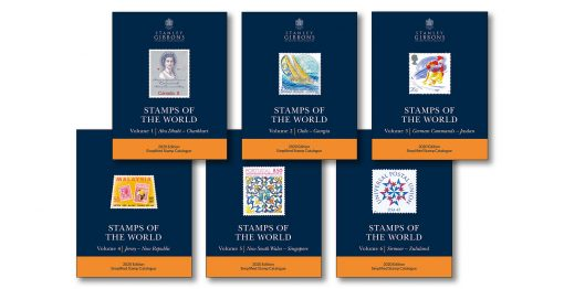 Stanley Gibbons Catalogues Stamps of the World: 2020 Edition