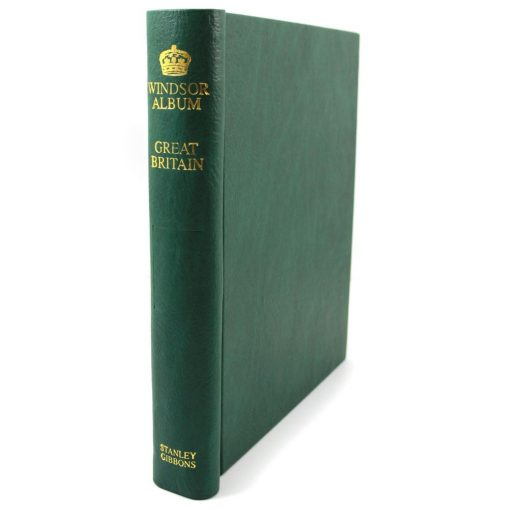 Stanley Gibbons One Country Albums and Supplements Windsor Popular Binder – Green
