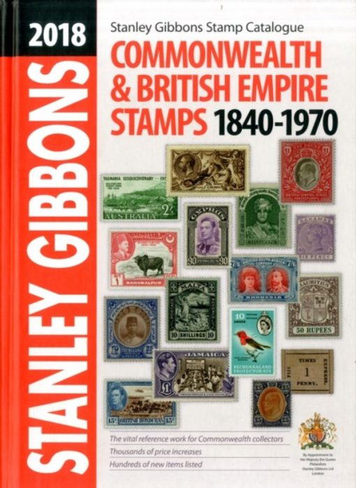 Australian Stamp Catalogues 2018 Commonwealth & British Empire Stamp Catalogue 1840-1970 (Special Offer)