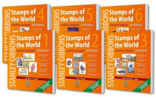 Catalogues Philatelic Stamps of the World: 2018 Edition (Special Offer – 6 Volume Set)